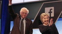 Em debate, Hillary e Sanders fazem de Trump o inimigo em