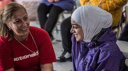Como é trabalhar com refugiadas sírias recém-chegadas à