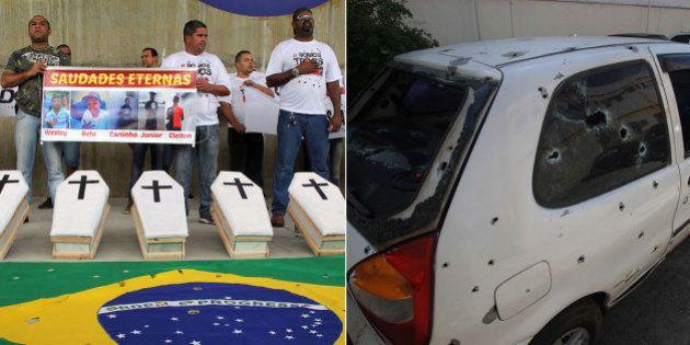 Jovens assassinados por PMs no Rio não tinham vestígio de pólvora nas