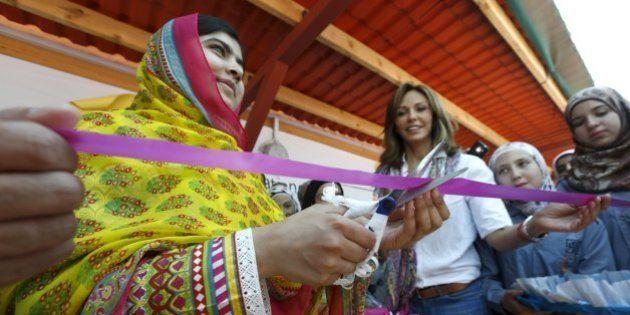 Malala comemora 18 anos com inauguração de escola para garotas sírias