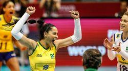 INVICTAS! Meninas do vôlei derrotam Alemanha e garantem final do Grand