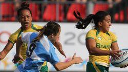 ELAS estão com tudo! Brasil é BRONZE no rúgbi feminino no Pan de