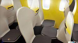 Voo sem conforto: Empresa quer acabar com assentos reclináveis e apoio para