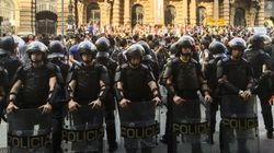 'Os manifestantes do dia 13 ignoram o sangue derramado pela