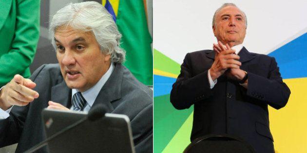 Delcídio do Amaral diz em delação que Michel Temer indicou ex-diretor preso da Petrobras, segundo