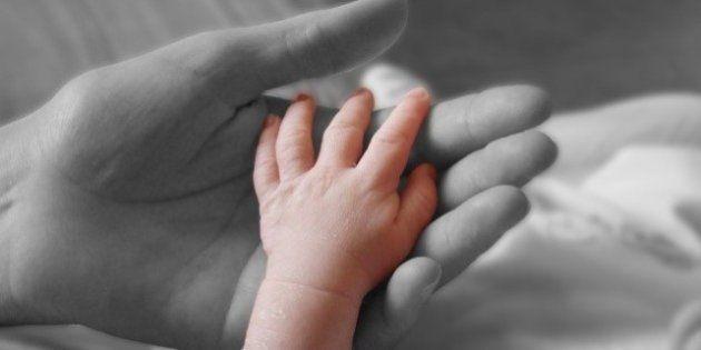 Mamma & figlio.La manina di mio figlio!The little hand of my son!