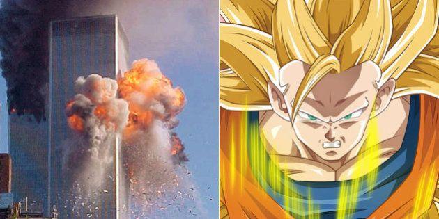 Dragon Ball Z foi interrompido no 11 de setembro, diz lenda