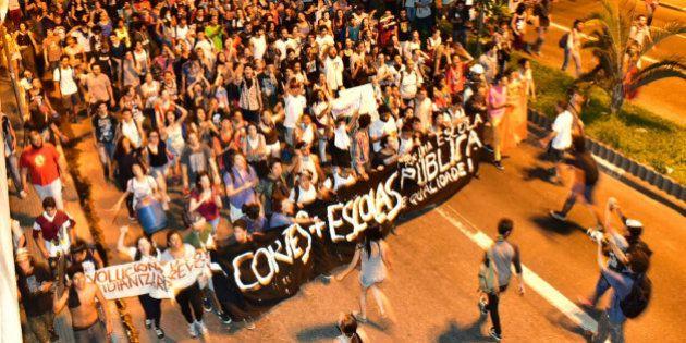 #OcupaEscola: Milhares de estudantes protestam contra fechamento das escolas de São