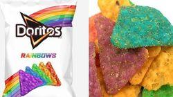 Doritos arco-íris: Marca lança salgadinho em apoio à comunidade