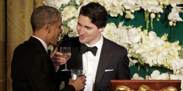 9 imagens que mostram que o 'bromance' entre Trudeu e Obama é o mais incrível de todos os