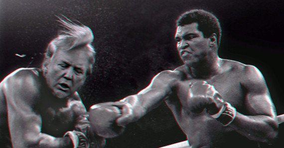 Muhammad Ali golpeia queixo de Trump: 'Não há nada islâmico em matar pessoas