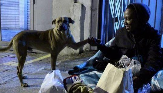Além de comida e roupas: Voluntários dão AMOR a moradores de