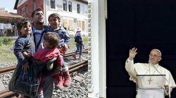 Vaticano recebe primeira família de refugiados
