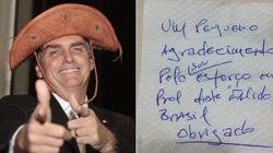 Tem 'almoço grátis' sim: Jair Bolsonaro almoça 'na faixa' no