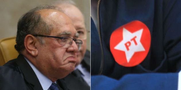 Ministro do STF, Gilmar Mendes, acusa PT de