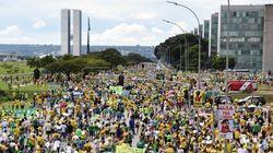 'Fora PT': Protesto contra o governo Dilma começa cedo em quatro