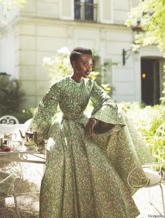 Lupita Nyong'o está de TIRAR O FÔLEGO em sua segunda capa para a Vogue