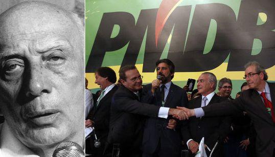 O PMDB de hoje faria Ulysses Guimarães chorar. De