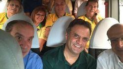 Contra corrupção, Aécio, Alckmin e Paulinho da Força vão juntos a