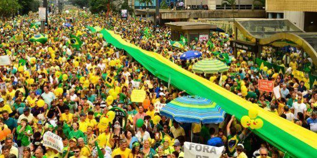 Protesto do 13 de março em SP é maior que Diretas Já, diz