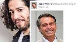 Facebook de Jean Wyllys é hackeado com imagem de