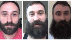 ASSISTA: Ele passou 365 dias sem fazer a barba; veja