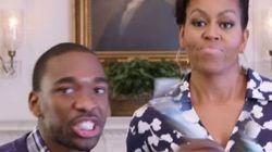Michelle Obama faz rap para incentivar jovens a entrarem na