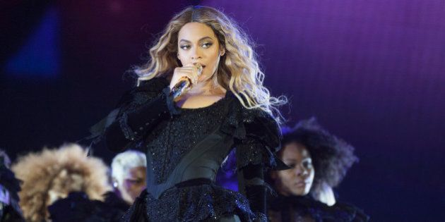 IMAGE DISTRIBUTED FOR PARKWOOD ENTERTAINMENT - Beyonce performs during the Formation World Tour at Ford...