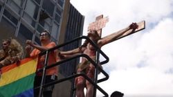 Atriz trans é intimada a esclarecer à polícia 'crucificação' na Parada Gay de