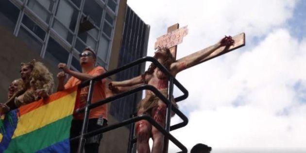 Viviany Beleboni é intimada a esclarecer à polícia 'crucificação' na Parada Gay de