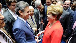 PSDB e PMDB negociam cenário sem Dilma, diz Aécio