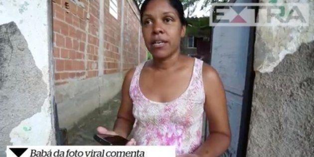 A voz de Angélica Lima, a babá clicada na