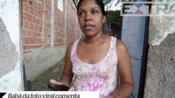 Angélica Lima, a babá clicada na manifestação, tem voz e é contra o governo