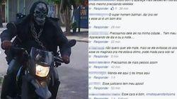 'Motoqueiro Fantasma' do Piauí é lenda das redes. Mas muita gente queria que fosse