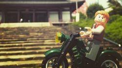 Chris Pratt dá rolê pelo mundo com sua própria miniatura em Lego. E ficou