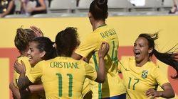 Brasil ATROPELA no futebol feminino e faz 7x1 no