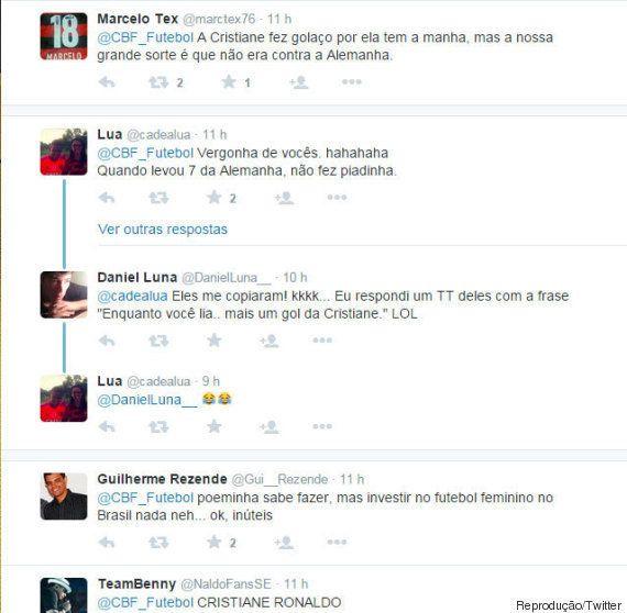 Após vitória no Pan, CBF tenta usar Twitter para 'exorcizar' 7 a 1 na Copa e acaba recebendo enxurrada...