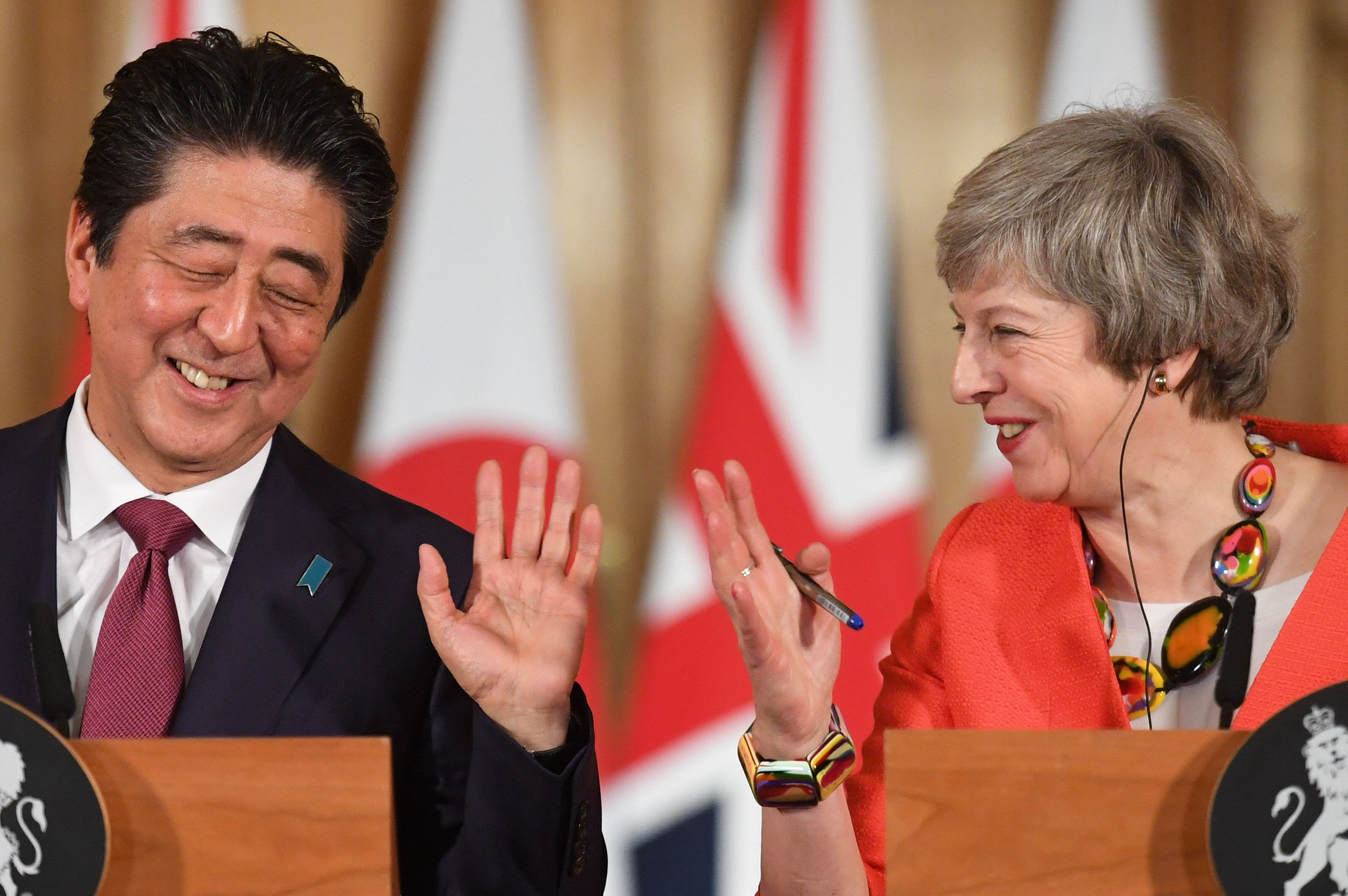 'Whole World' Wants To Avoid A No-Deal Brexit, Japanese PM