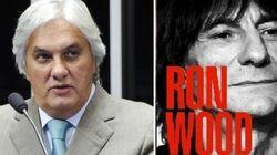 Detido, Delcídio Amaral lê autobiografia de guitarrista do Rolling
