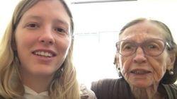 Vovó Olga fará 94 anos e a neta dela pede sua ajuda para preparar um