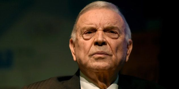 RIO DE JANEIRO, BRAZIL - FEBRUARY 12: Jose Maria Marin, president of the Brazilian football confederation...