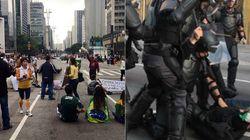 Por que a PM e a CET fecharam a Paulista ANTES do ato #ForaDilma em