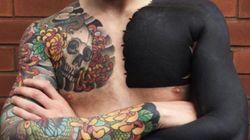 Para quem gosta de TINTA e DOR: As tatuagens em preto sólido estão em