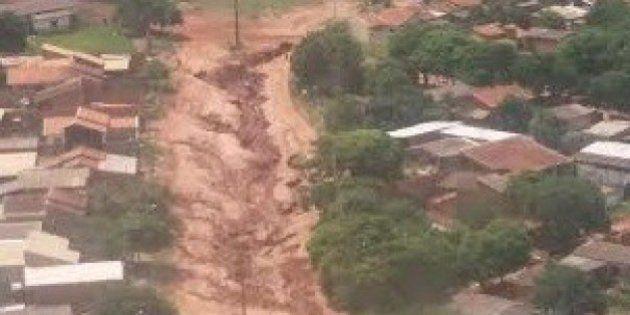 Enchentes atingem mais de 10 mil pessoas e deixam 20 municípios em estado de emergência em Mato Grosso...