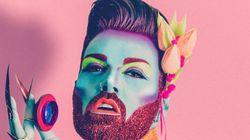 FOTOS: MUITO glitter na barba para desafiar suas ideias sobre