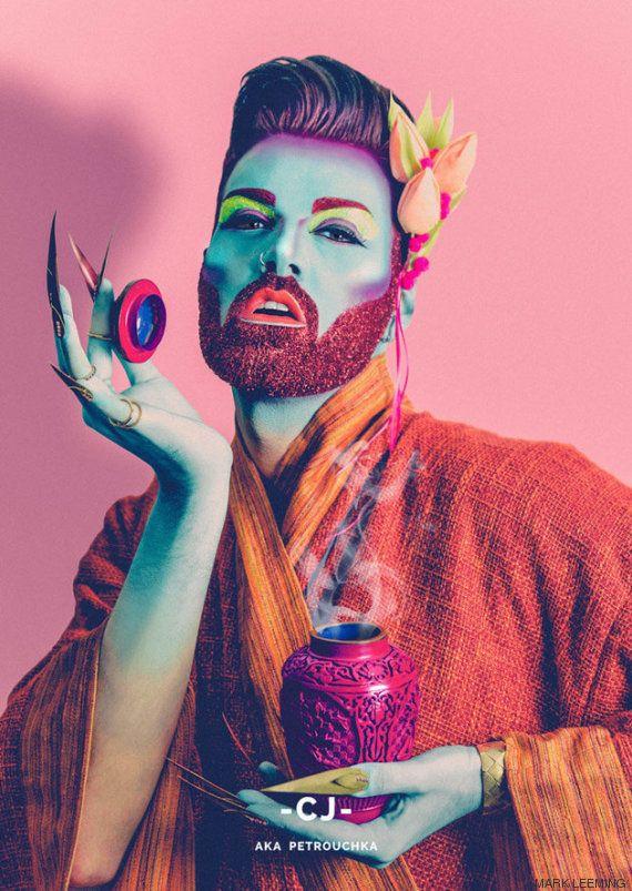 Saudades de 'RuPaul's Drag Race'? Então aí vão homens com MUITO glitter na barba vão desafiar suas ideias...