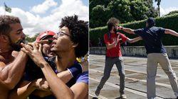 FOTOS: Indignação e violência marcam protestos em 14 Estados e no