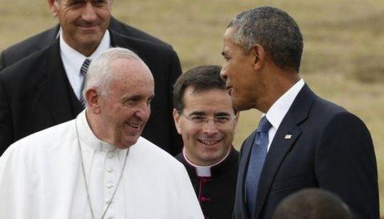 FOTOS: Papa Francisco chega aos EUA e é recebido por