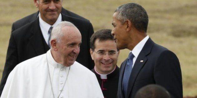 Papa diz esperar que EUA retirem embargo a Cuba, mas não abordará assunto no Congresso