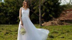 Site brasileiro faz sucesso com vestido de noiva a partir de R$